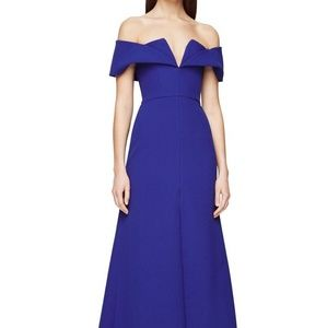 Off the shoulder gown BCBGMAXAZRIA Amalie